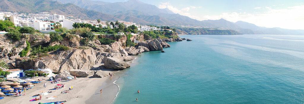 Panoramablick über Costa del Sol